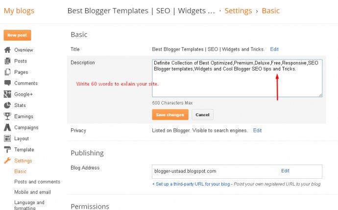 Best Blogger Templates | SEO | Widgets and Tricks