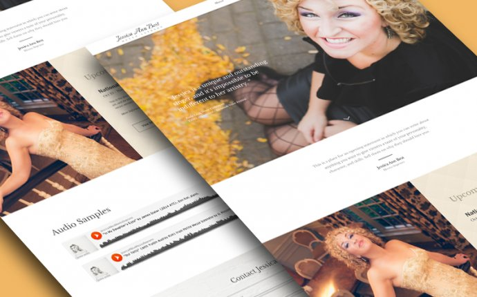 Jessica Best Promotional Website by Matt Olpinski - Drile