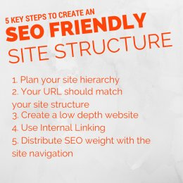 5 key steps to create an seo friendly site structure