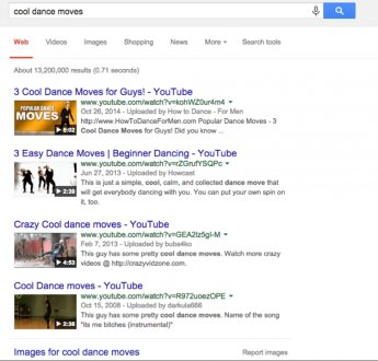 Google search result- cool dance moves