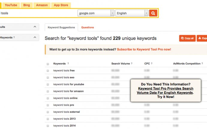SEO Website Tool